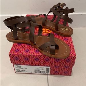 TORY BURCH exclusive rare sandals brand new